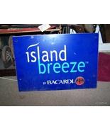 Rare vintage island breeze bacardi tin/steel si... - $50.00