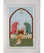 Dottie's Nativity christmas holiday cross stitc... - $5.40