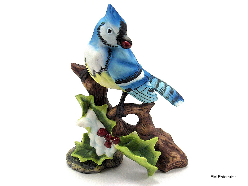 Porcelain Collectible Bird Figurine - Figurines