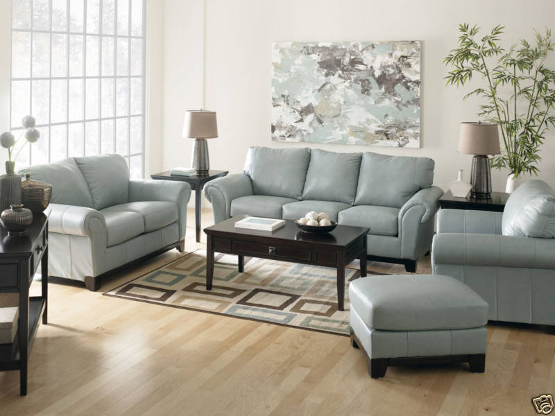Furniture Living Room Furniture Sofa Blue Sofa
