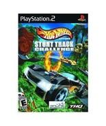 Hot Wheels Stunt Track Challenge PS2 Sony Video... - $6.59