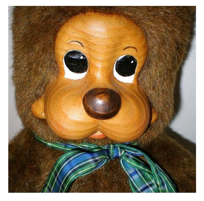 Image 5 of Robert Raikes Prototype Kevi Woody bear 1987