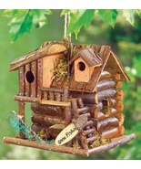 Gone Fishin' Birdhouse  7 inch wood  - $8.99