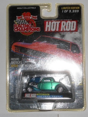 Racing Champions  1999 34 ford coupe  MOC