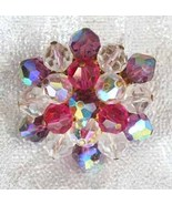 Elegant Iridescent Multicolored Cut Glass Bead ... - $17.95