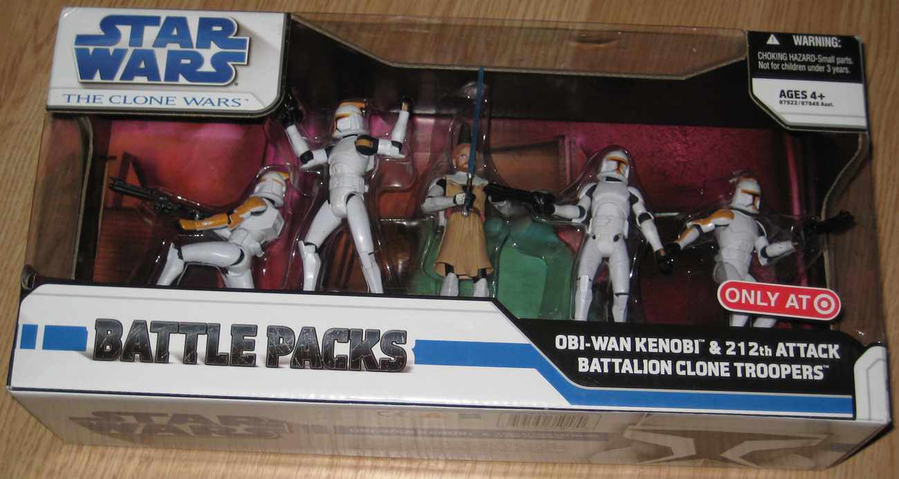 Star Wars Clone Wars Obi-Wan & 212th Attack Battalion