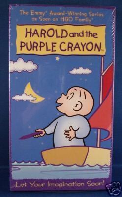 Harold and the Purple Crayon #2 (2004) VHS, NEW