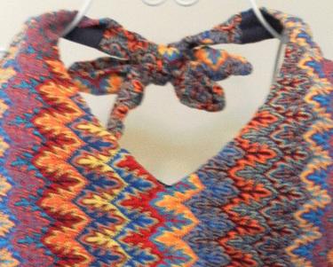 Bareback Halter Knit Top For Little Girl | Free Pattern & Tutorial