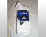 Buy Sleepwear - 3 Pack of Adidas Men's Athletic Socks Size 10-13 bnwt