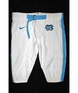 UNC TARHEEL GAME USED FOOTBALL PANTS WHITE Si... - $29.00
