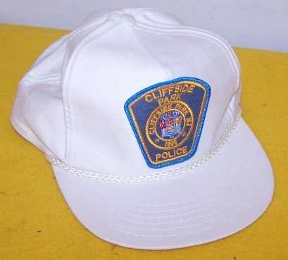 Authentic Cliffside Park NJ Police Hat / Cap New