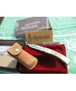 Schrade Knife The Gold Rush Commemorative Limit... - $90.00