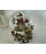 Absolutely Gorgeous! Musical Snowman Snow Globe with Nature Scene  - $39.99