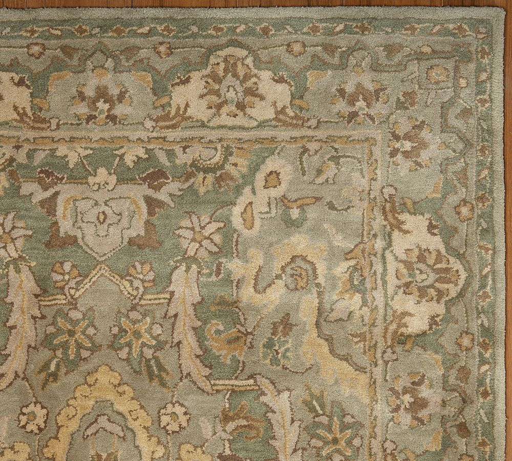 New Brand Devlin Persian Rug Handmade 100 Wool Area Rugs: Sale Brand New Pottery Barn THYME Persian Style Woolen