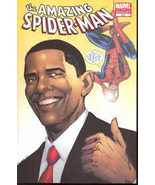 AMAZING SPIDER-MAN #583 BARACK OBAMA 2ND PRINTI... - $99.99