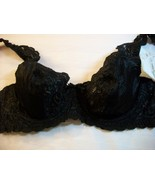 WOMEN INGENUE BY SPIRI BLACK LACE UNDERWIRE BRA... - $14.80