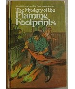 THREE INVESTIGATORS Flaming Footprints 1st print - $21.95