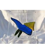 Small Slumped Glass Tray or Dish RKP21 - $8.00