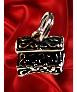 Sterling Silver Jewelry Box Bell Charm - a - $14.99
