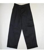 Van Heusen Black Dress Pants Patterned Cuffed B... - $5.69