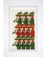 Days of Christmas Eleventh Day holiday cross st... - $5.40