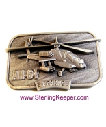 1983 AH-64 Apache Helicopter.Belt Buckle Limite... - $44.99