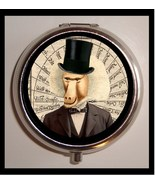 Baboon Man Monkey in Top Hat Surreal Victorian ... - $7.10