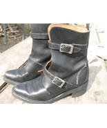 Womens Harley Davidson Italy Black Leather buck... - $60.00