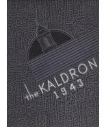 1943 Kaldron - Allegheny College Meadville, Pa.... - $19.00