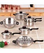 17 piece Surgical Stainless Steel Steam Control... - $357.97