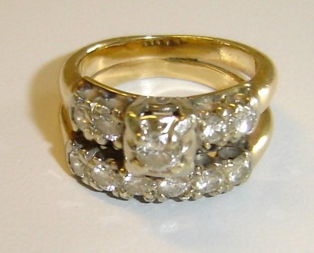 1950s Wedding Ring Sets bonanzleimagess3amazonawscom 1950s wedding ring