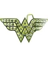 Wonder Woman Licensed Rhinestone Belt Buckle - $22.00