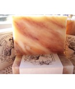 Handmade Orange Hibiscus Soap 4 Bars