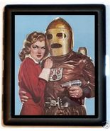 Android Robot & Pinup Kitsch Humor Cigarette or... - $9.29