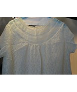 Vintage Lady's White Lace Nightgown - $15.53