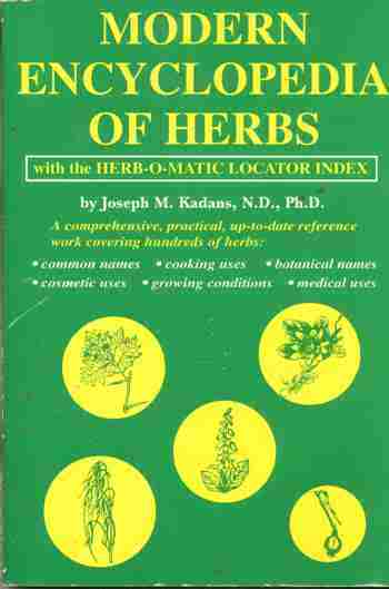 Modern Encyclopedia of Herbs Remedy Cook Cosmetics Grow