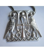 Trifari Egyptian Revival Pendant Necklace. c. 1970s.