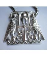 Trifari Egyptian Revival Pendant Necklace. c. 1970s.  - $200.00