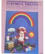 Flavorful Friends Vintage Crochet Pattern Bookl... - $24.95