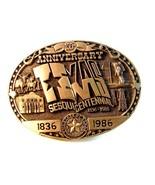 Official Texas Sesquicentennial Belt Buckle Lim... - $54.99