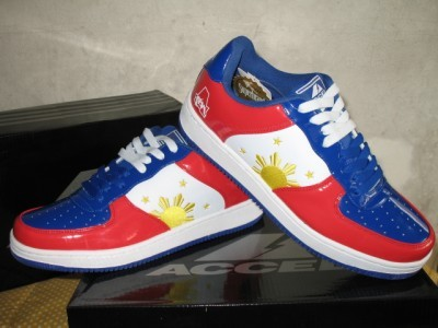 MANNY PACQUIAO Pinoy Pride Shoes sz 11 Limited Edition BRAND NEW