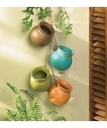 Hanging Southwestern Ceramic Pot Jug Bowl - $19.00