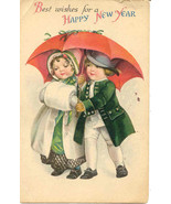Best Wishes For A New Year Ellen Clapsaddle Pos... - $6.00