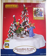 LEMAX 2004 VILLAGE MERRY CHRISTMAS TREE LIGHTED... - $15.00