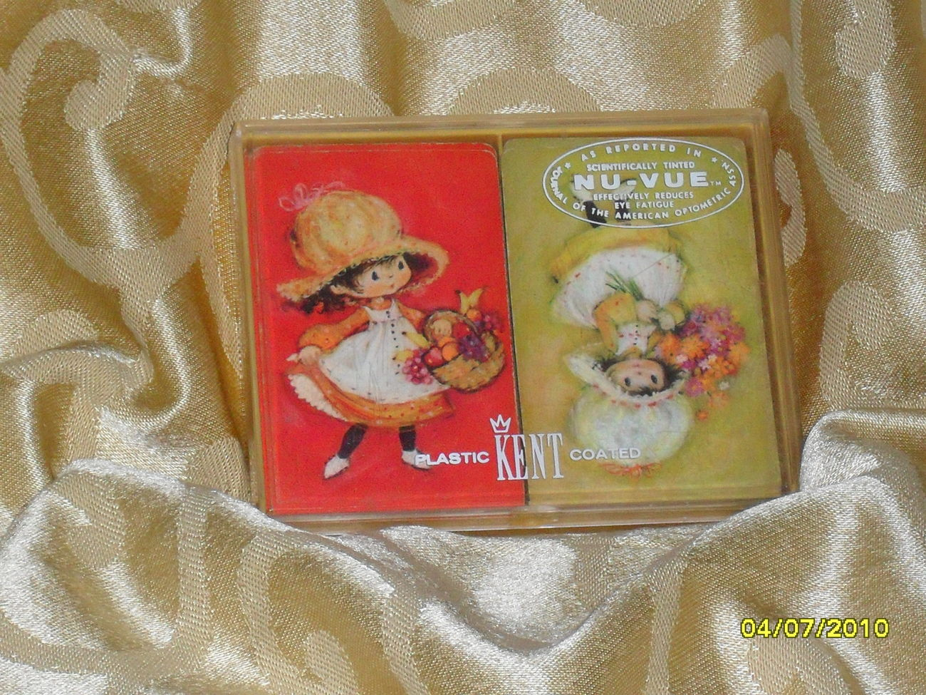 Vintage 60's 70's Hallmark Playing Card Charmers