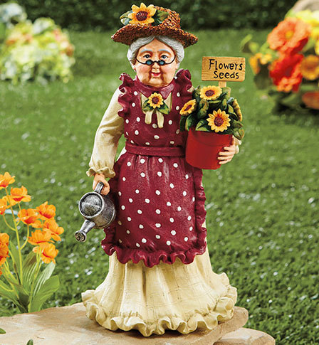 Grandma Grandparents Garden Statue