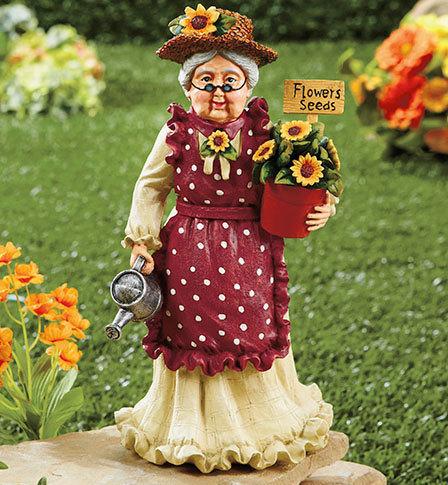 Image 0 of Grandma Grandparents Garden Statue