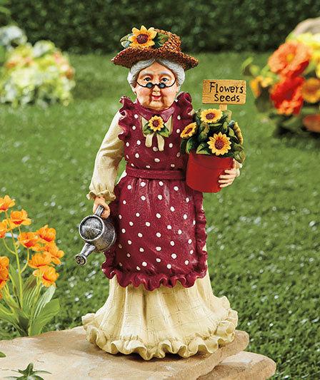 Image 1 of Grandma Grandparents Garden Statue