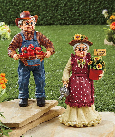 Image 2 of Grandma Grandparents Garden Statue