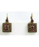 Deco Style Earrings Swarovski Crystals Reproduc... - $38.99